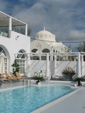 Aressana Spa Hotel and Suites: view of catherdral