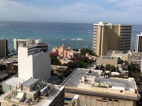 Royal Kuhio: View from one of the lanai's