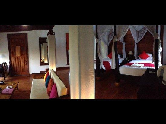Pristine Lotus Spa Resort : The room
