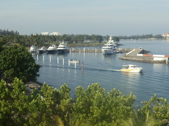 Sutera Harbour Resort (The Pacific Sutera & The Magellan Sutera) : From The balcony across the bay