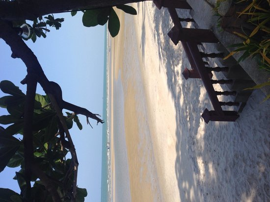 Anantara Hua Hin Resort : Beautiful beach