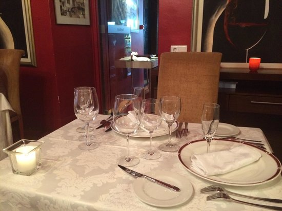 Restaurante Do Forte : Poet's room dining