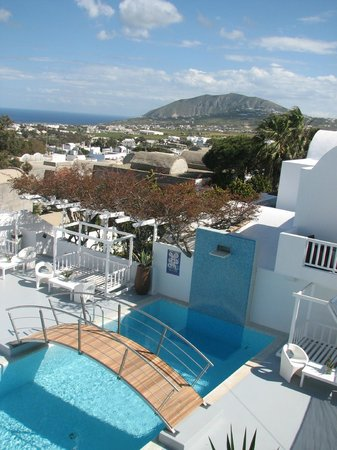 Aressana Spa Hotel and Suites: views from hotel
