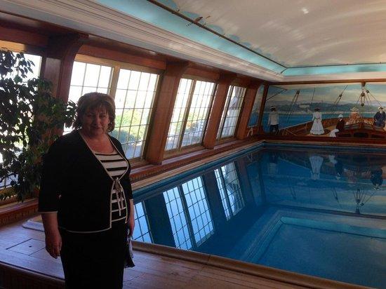 Le Bristol Paris : La piscine