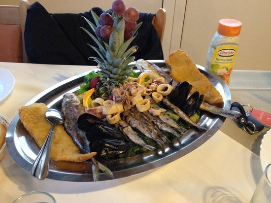 Villa Margerita: Fish plate for two Adria.