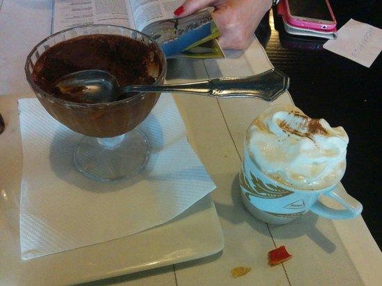 O Marineiro : Desert choclate and coffee