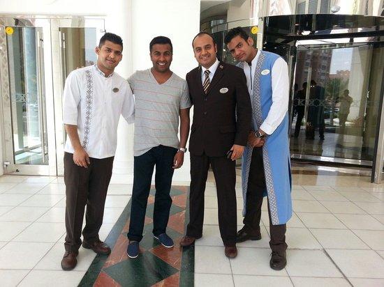 Movenpick Ibn Battuta Gate Hotel Dubai: Thanks to the concierge Mr Avnish, Sheraz, Dhaniyal and all the team at Movenpick.