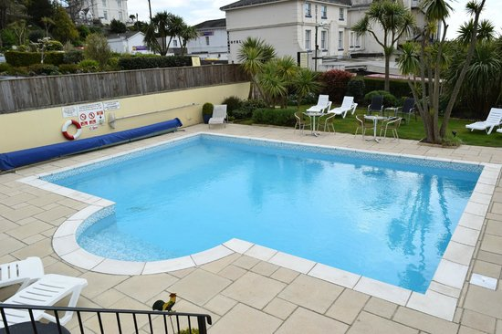 Riviera Lodge Hotel Torquay: Swimming Pool