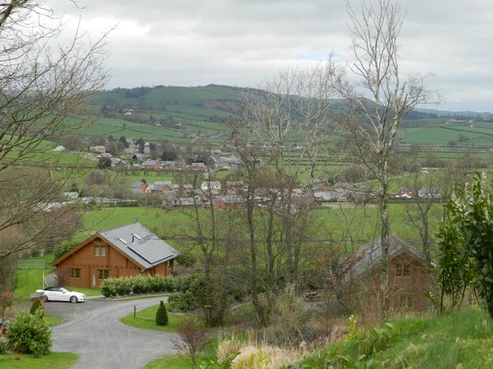 Luxury Lodges Wales: Great location