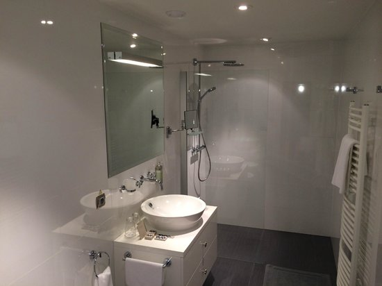 Chateau Heralec - Boutique Hotel & Spa by L'OCCITANE: Our clean bathroom