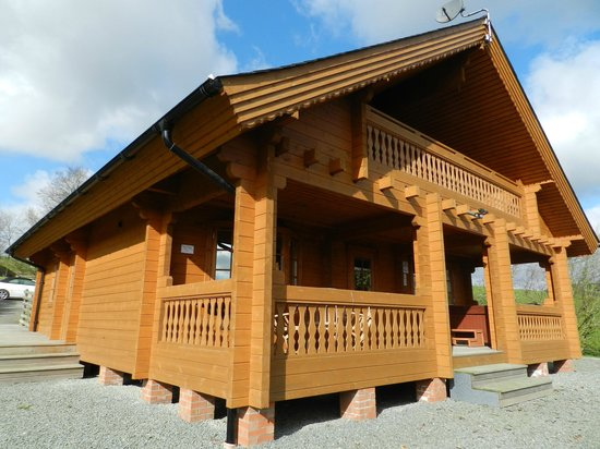 Luxury Lodges Wales: 1st class lodge