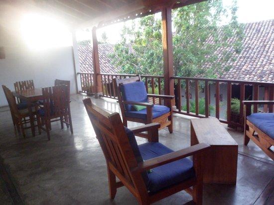 Hotel con Corazon : terraza superior