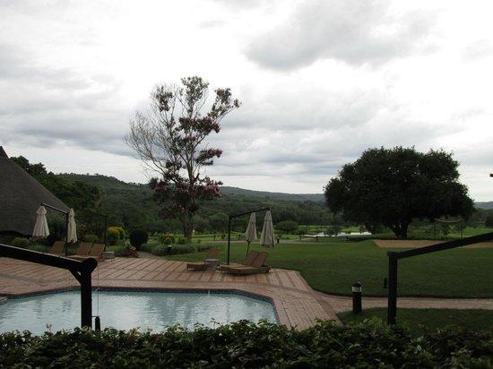 Sabi River Sun Resort : Blick zum Pool