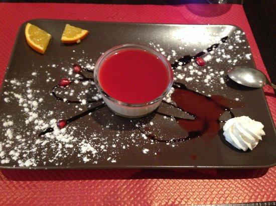 Petit Mignon : Pana cotta raspberry