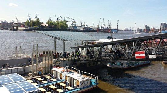 Landungsbrücken: Der Weg in den Hafen