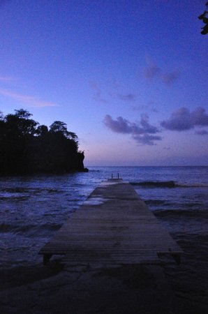 The Resort at Wilks Bay: Sunset over the pier