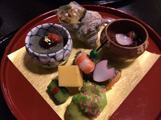 Hotel Nikko Kanazawa: Beautifully presented food