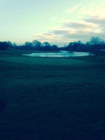 Citywest Hotel: Campo da golf con lago