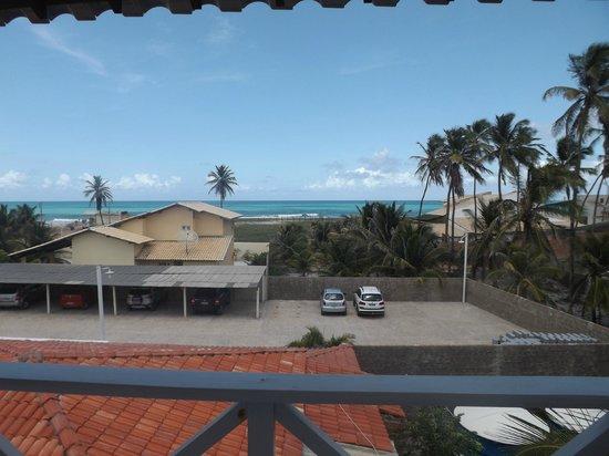 Brisamar Hotel Pousada: Vista da varanda