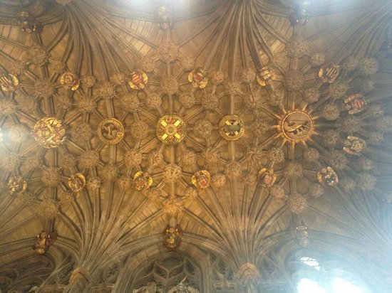 St Giles' Cathedral: part of the a ceiling