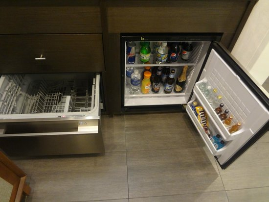 Hotel 48LEX New York : In room snack bar (paid)