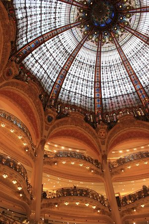 Galeries Lafayette: Galerie Lafayette Cupola