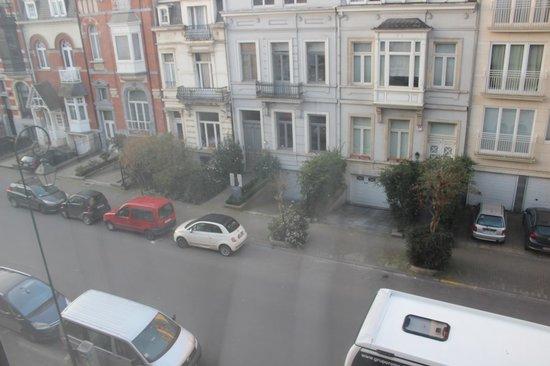 Hotel Catalonia Brussels : Ventana de la habitación