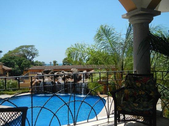 Sunrise Condos of Tamarindo : Balcony view