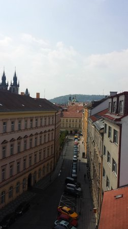 Design Hotel Josef Prague: View