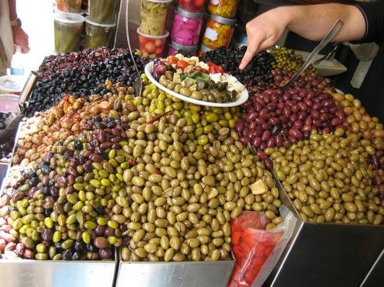 Delicious Israel - Private Culinary Walking Tours: Olives galore