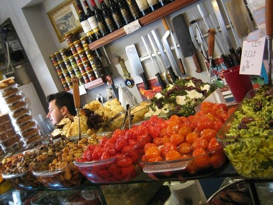 Delicious Israel - Private Culinary Walking Tours: One of several stops in Tel Aviv