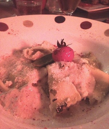 La Cuisine des Anges : Spinach and Ricotta Ravioli with Artichoke Cream