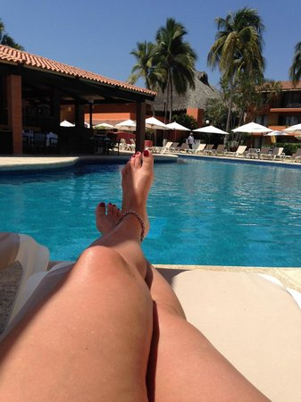 Holiday Inn Resort Ixtapa : pool view