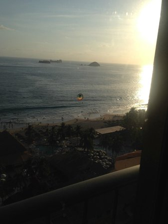 Holiday Inn Resort Ixtapa: view from tower room