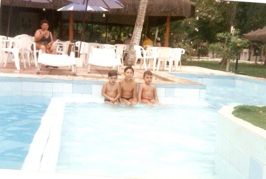 Resort Pau Brasil Praia: Amigos curtindo