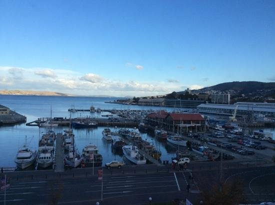 Grand Chancellor Hotel Hobart: view from 12th floor room