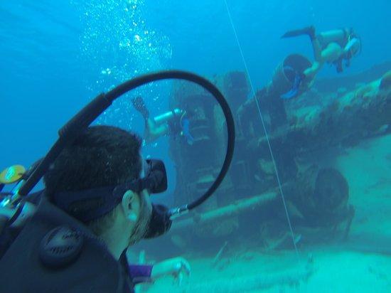 Playa Tranquilo: Barco undido