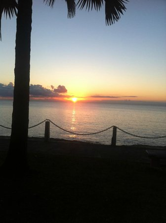 Sand Castle on the Beach: Sunset in Frederiksted