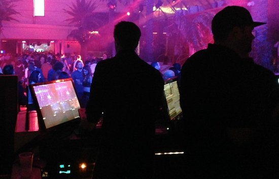 Marquee Nightclub & Dayclub at The Cosmopolitan of Las Vegas: Marquee one of the stages and dance floors with top DJ's