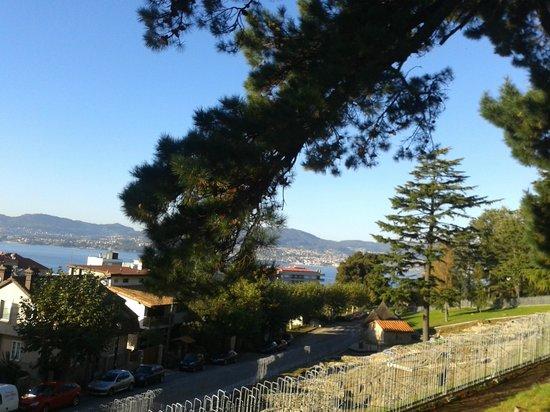 Parque Monte del Castro: Parque, en su interior el Castro