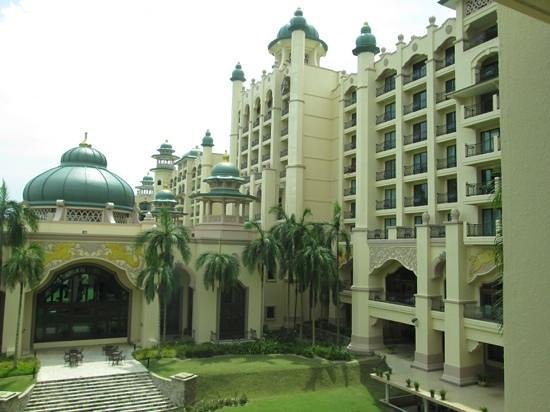 Palace of the Golden Horses: view from our room