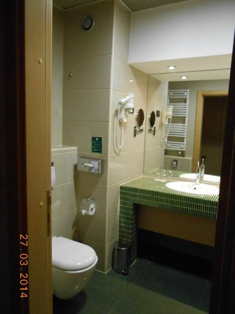 Holiday Inn Belgrade: Bathroom