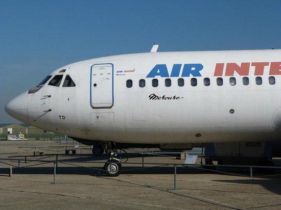 Musée de l'Air et de l'Espace : Air Inter
