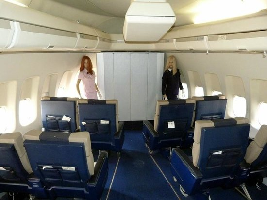 Concorde f btsd photo de mus e de l 39 air et de l 39 espace for Interieur 747 air france