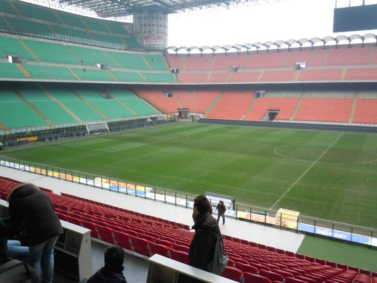 Stadio Giuseppe Meazza (San Siro) : 翌日スタジアムツアーで再訪