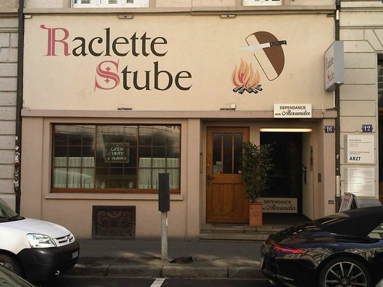 Raclette Stube: Builidng exterior