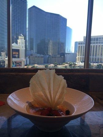 Eiffel Tower Restaurant at Paris Las Vegas : Thanks Carson!