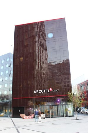 ARCOTEL Onyx: Outside view of hotel.