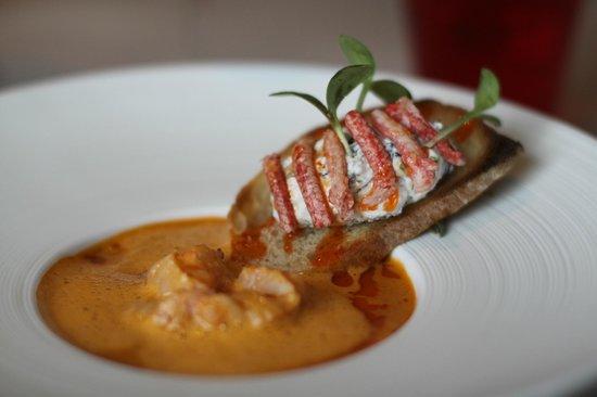 La Marelle : lobster first meal 2