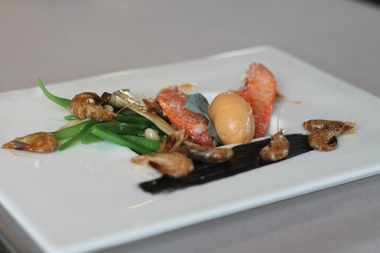La Marelle : lobster first meal